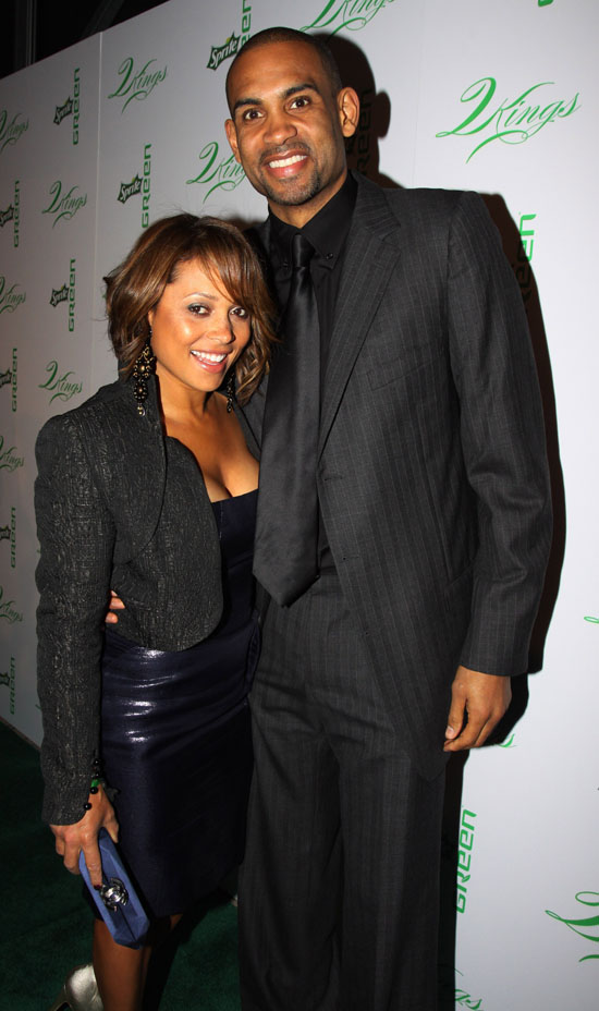 Grant Hill And Tamia 2013