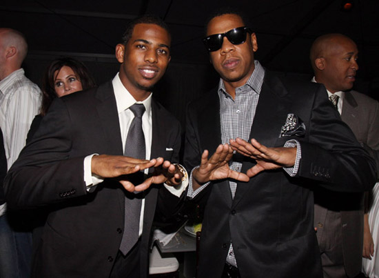 "Chris Paul and Jay-Z // ""Two Kings\"" Dinner And After Party"