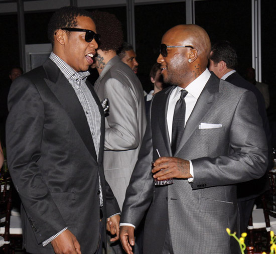 "Jay-Z and Young Jeezy // ""Two Kings\"" Dinner And After Party"