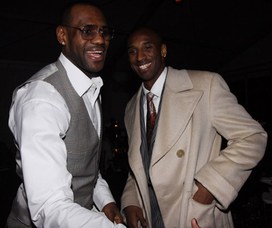 "Lebron James and Kobe Bryant // ""Two Kings\"" Dinner And After Party"