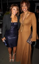 "Tamia and Gayle King // ""Two Kings\"" Dinner And After Party"