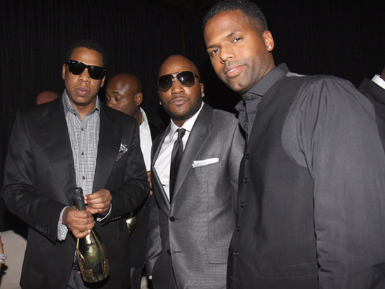 "Jay-Z, Young Jeezy and AJ Calloway // ""Two Kings\"" Dinner And After Party"