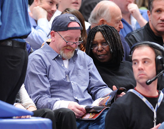 Whoopi Goldberg // Knicks Game