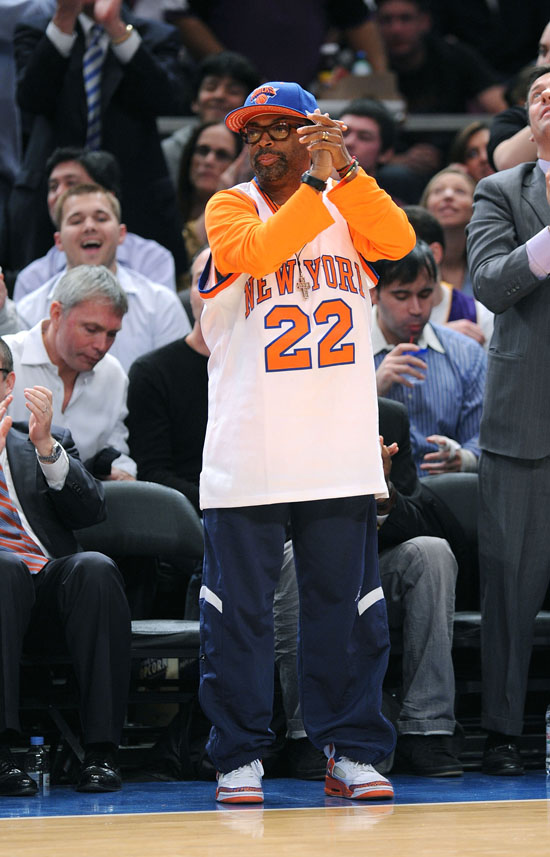 Spike Lee // Knicks Game