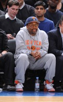 Spike Lee // Knicks vs. Cavs basketball game (02.04.09)