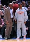 L.A. Reid & Spike Lee // Knicks vs. Cavs basketball game (02.04.09)