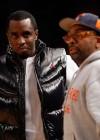 Diddy & Spike Lee // Knicks vs. Cavs basketball game (02.04.09)