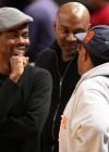 Chris Rock & Spike Lee // Knicks vs. Cavs basketball game (02.04.09)