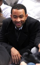 John Legend // Knicks vs. Cavs basketball game (02.04.09)