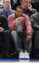 Jay-Z // Knicks vs. Cavs basketball game (02.04.09)