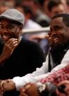 Chris Rock, Diddy & Jay-Z // Knicks vs. Cavs basketball game (02.04.09)