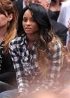 Ciara // Knicks vs. Cavs basketball game (02.04.09)