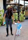 LaLa Vasquez & Kiyan Anthony in Hollywood (02.04.09)