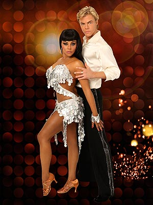 Lil Kim and Derek Hough // Dancing With the Stars Season 8