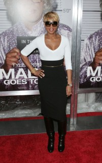 Mary J. Blige // Madea Goes to Jail Premiere in NYC