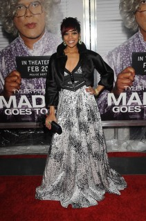 Monica // Madea Goes to Jail Premiere in NYC