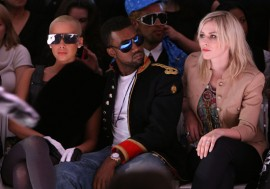 Amber Rose, Kanye West and Natasha Bedingfield // Alexandre Herchcovitch Fall 2009 Fashion Show