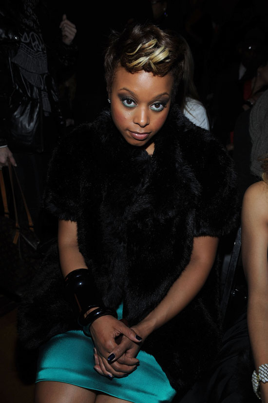 Chrisette Michele // Baby Phat & KLS Collection Fashion Show