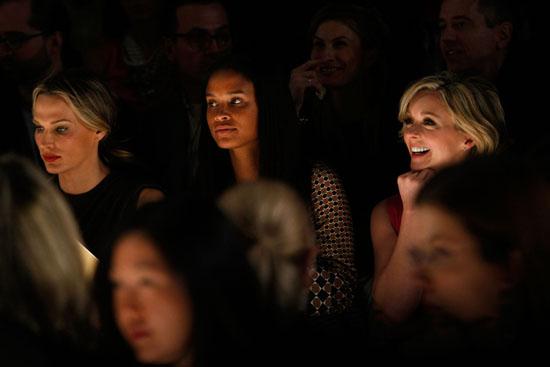 Molly Sims, Joy Bryant and Jane Krakowski // Michael Kors Fashion Show