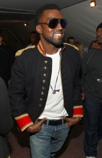 Kanye West // Alexandre Herchcovitch Fall 2009 Fashion Show