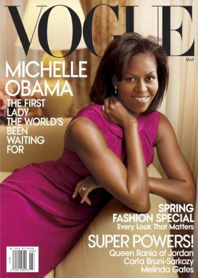 Michelle Obama // March 2009 Vogue Magazine