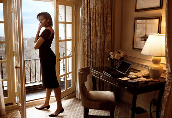 Michelle Obama // Vogue Magazine March 2009