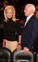 Arizona Senator John McCain and (wife) Cindy McCain // 2009 NBA All-Star Game (Courtside)