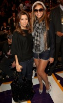 Eva Longoria and Beyonce // 2009 NBA All-Star Game (Courtside)