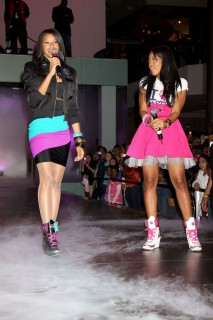 Vanessa and Angela Simmons // Pastry Concert & Fashion Show