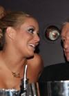 Aubrey O'Day & Hugh Heffner // Playboy March 2009 issue party