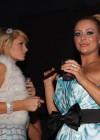 Paris Hilton & Aubrey O'Day // Playboy March 2009 issue party