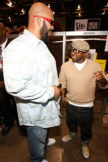 Suge Knight & Jermaine Dupri // Pop Watch launch in Vegas