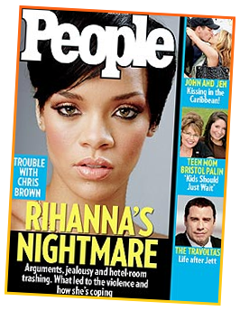 Rihanna's People Magazine Cover