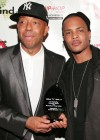 """Russell Simmons & T.I. // """"Salute to Grammy Award Nominees"""" Event"""