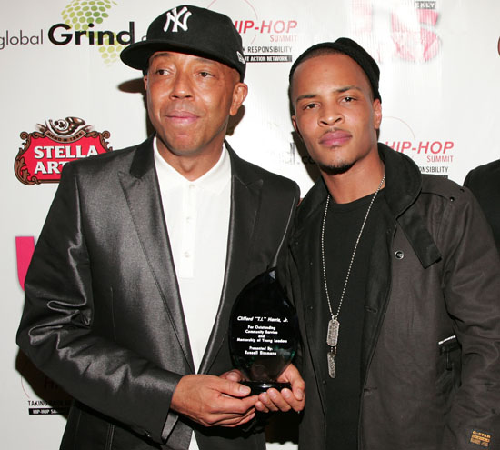 "Russell Simmons & T.I. // ""Salute to Grammy Award Nominees"" Event"