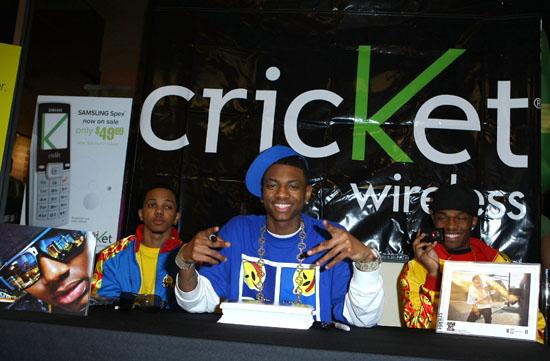 Soulja Boy // Cricket Wireless store in Vegas