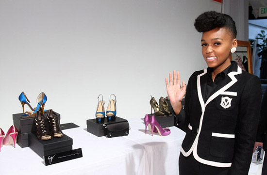 Janelle Monae // 51st Annual Grammy Awards Style Studio Day 3