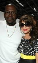 Randy Jackson & Paula Abdul // 51st Grammy Awards Style Studio (Day 1)