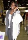 Tameka Raymond leaving Airport in Brazil