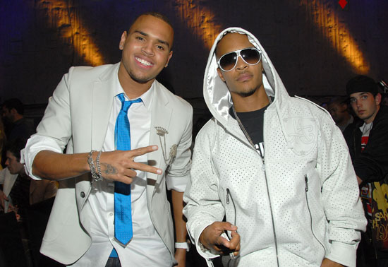Chris Brown and T.I.
