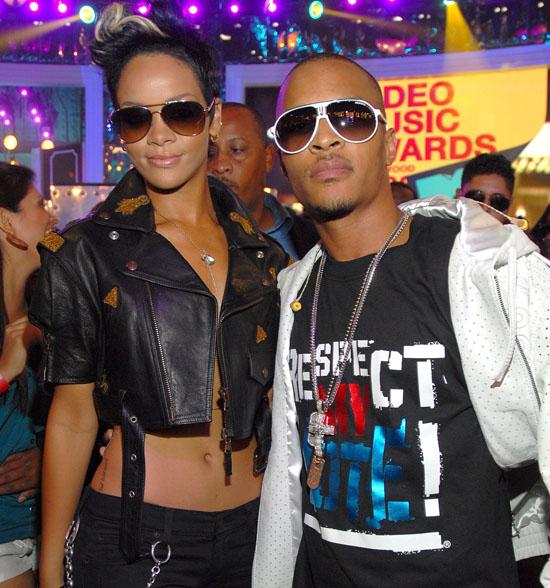 T.I. and Rihanna