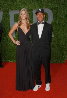 Russell Simmons & Julie Henderson // 2009 Vanity Fair Oscar Party (Red Carpet)