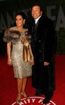 Smokey Robinson & Frances Glandney // 2009 Vanity Fair Oscar Party