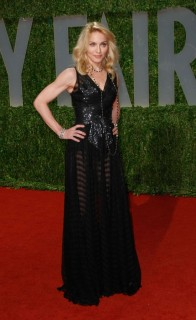 Madonna // 2009 Vanity Fair Oscar Party (Red Carpet)