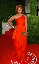 Gayle King // 2009 Vanity Fair Oscar Party (Red Carpet)