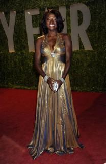 Viola Davis // 2009 Vanity Fair Oscar Party (Red Carpet)