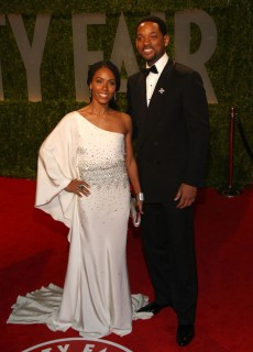 Will Smith & Jada Pinkett-Smith // 2009 Vanity Fair Oscar Party (Red Carpet)