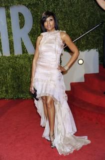 Taraji P. Henson // 2009 Vanity Fair Oscar Party (Red Carpet)