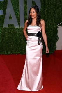 Rosario Dawson // 2009 Vanity Fair Oscar Party (Red Carpet)