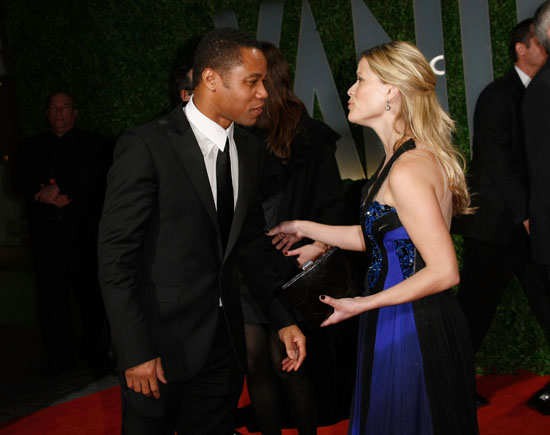 Cuba Gooding Jr. & Reese Witherspoon // 2009 Vanity Fair Oscar Party (Red Carpet)